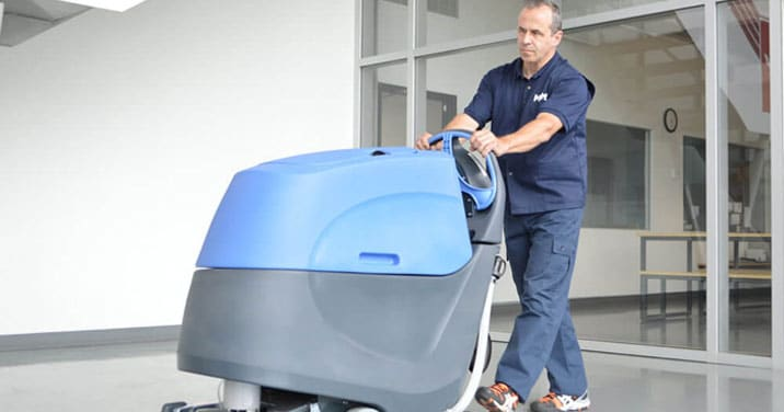 commercial floor maintenance and cleaning in Montreal