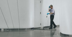 professional training of new janitorial staff