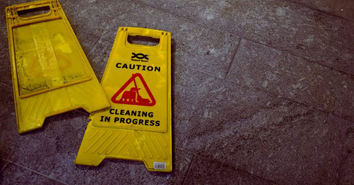 Deep cleaning of residential buildings by our industrial cleaning services