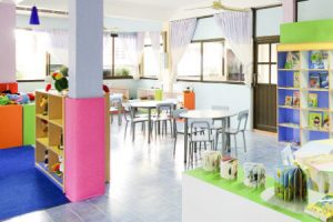 Well maintained daycare using our commercial cleaning services