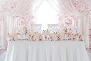 Mariage reception cleaned by our professional cleaning services