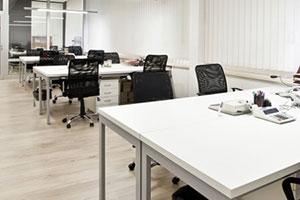 Montreal business offices maintained by our janitorial services