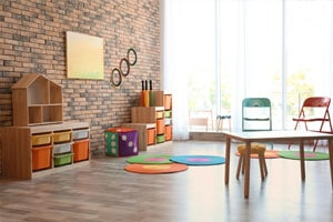 Daycare using our cleaning services in Montreal