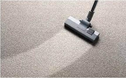 Dry foam carpet cleaning