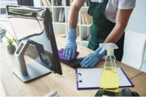 Miscellaneous Office Cleaning Tips