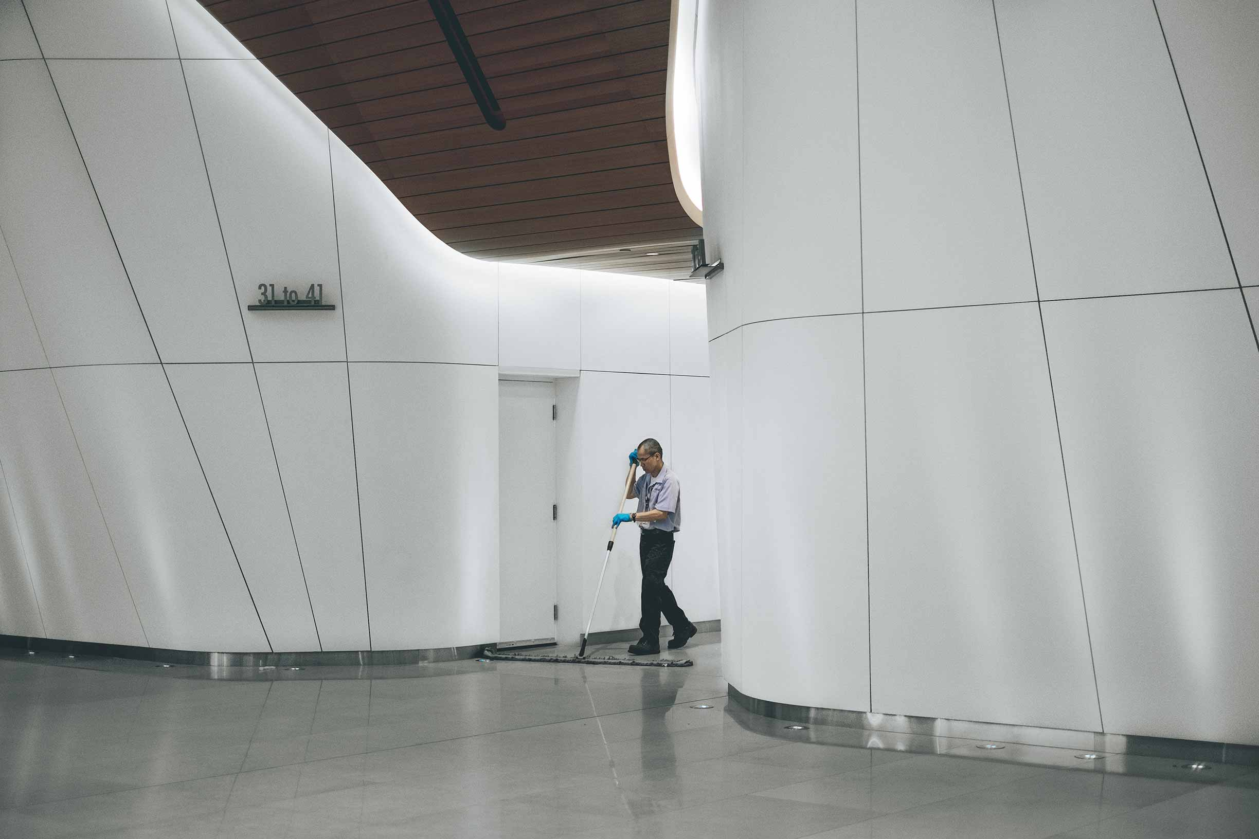 Employee Cleaning Services Professional